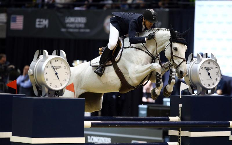 Fantastic McLain Ward takes the first Longines Masters of New York