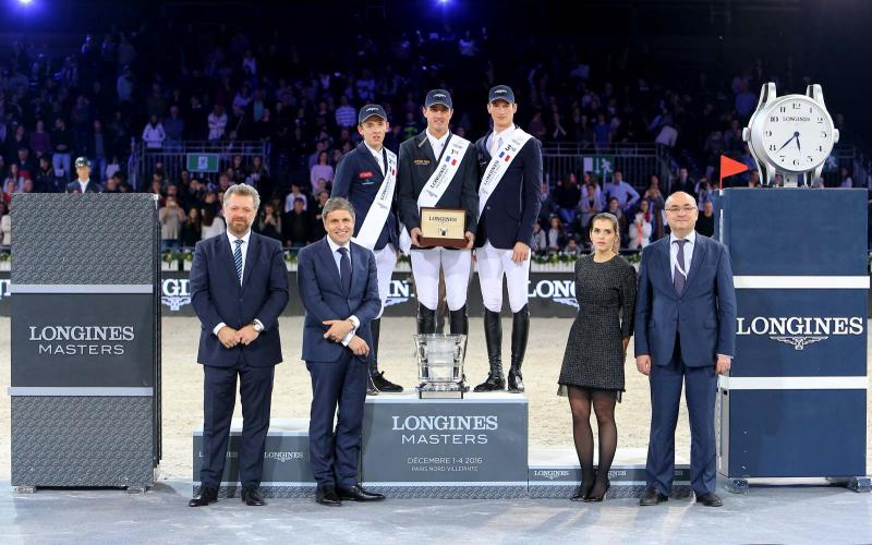 Gregory Wathelet, champion of the Longines Masters of Paris