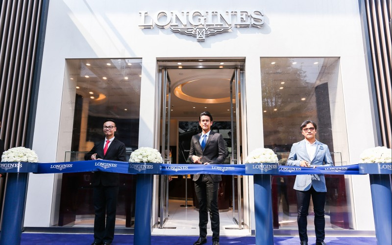 Longines officially inaugurates the Taikoo Li Chengdu Boutique in presence of Ambassador of Elegance Eddie Peng