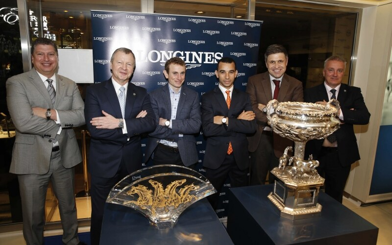 Meet with the best jockeys » at Longines Star House boutique in Hong Kong