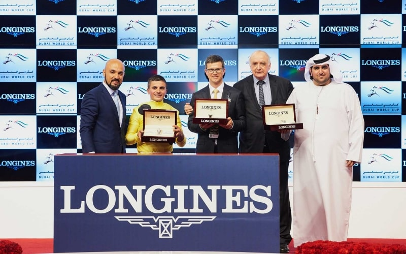 Longines timed the prestigious races of the Dubai World Cup