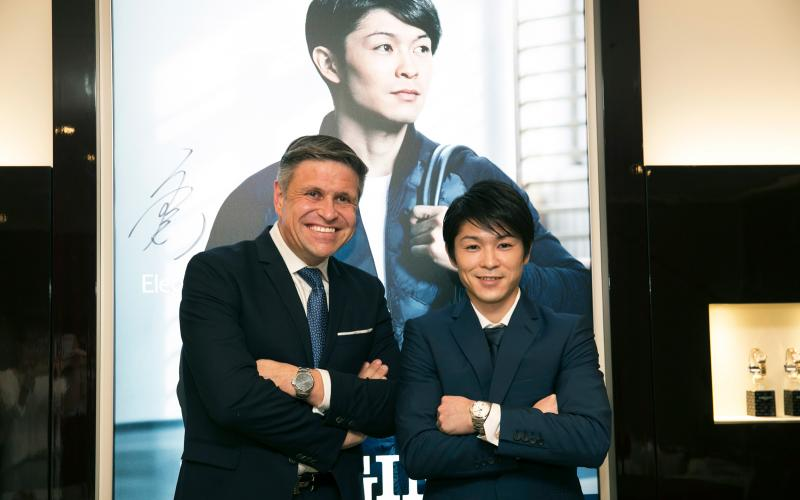 Longines unveils the new Conquest V.H.P. advertising campaign featuring its Ambassador of Elegance Kohei Uchimura