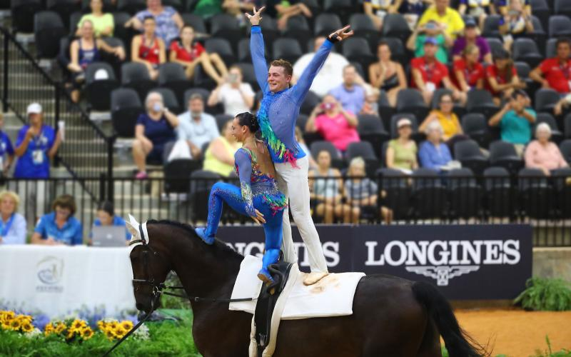 Vaulting, WEG 2018, Tryon