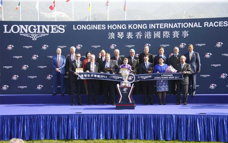 Magnier Family; O'Brien; 2018 Longines; IFHA; International Award of Merit