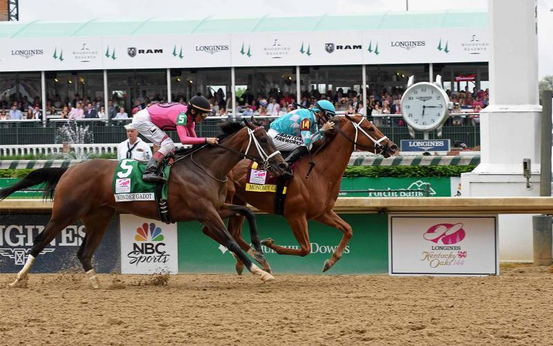 Monomoy Girl's; Longines Kentucky Oaks; Churchill Downs