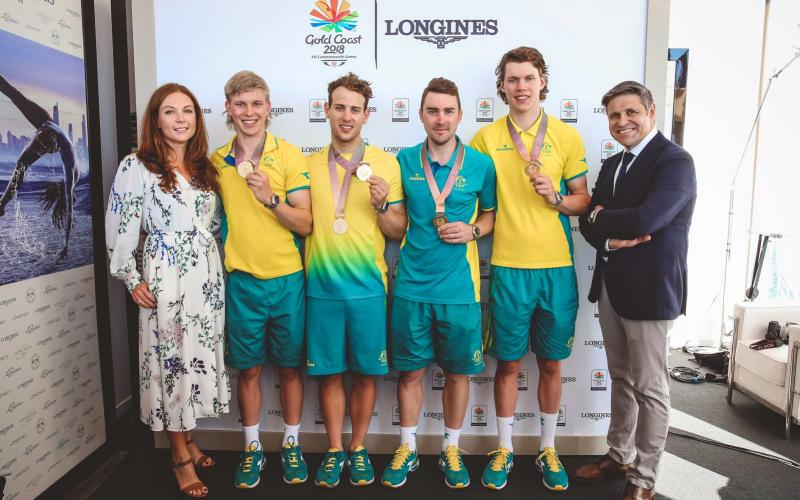 Commonwealth Games Record;2018;longines records club,Conquest V.H.P. Gold Coast 2018