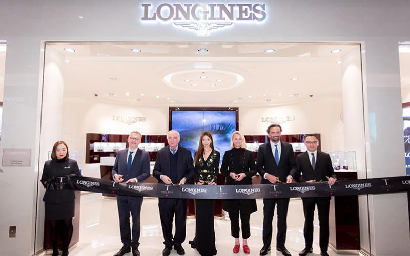 New Boutique opening Macau, Longines Boutique; Chi-Ling Lin