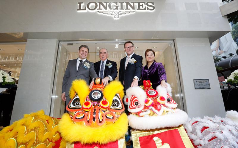 News Opening, Longines boutique, hong kong, 2016