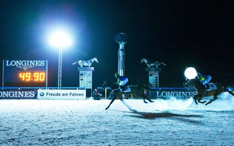 Longines appointed Official Timekeeper and Official Watch of the White Turf St. Moritz