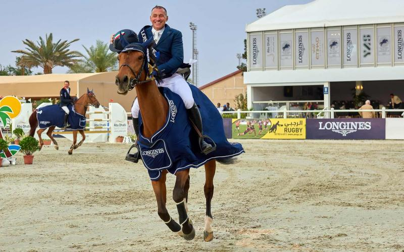 Longines marked an elegant presence at the President of the UAE Show Jumping Cup presented by Longines