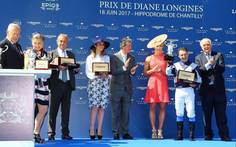 Prix de Diane Longines; Chantilly; Horse Racing; 2017
