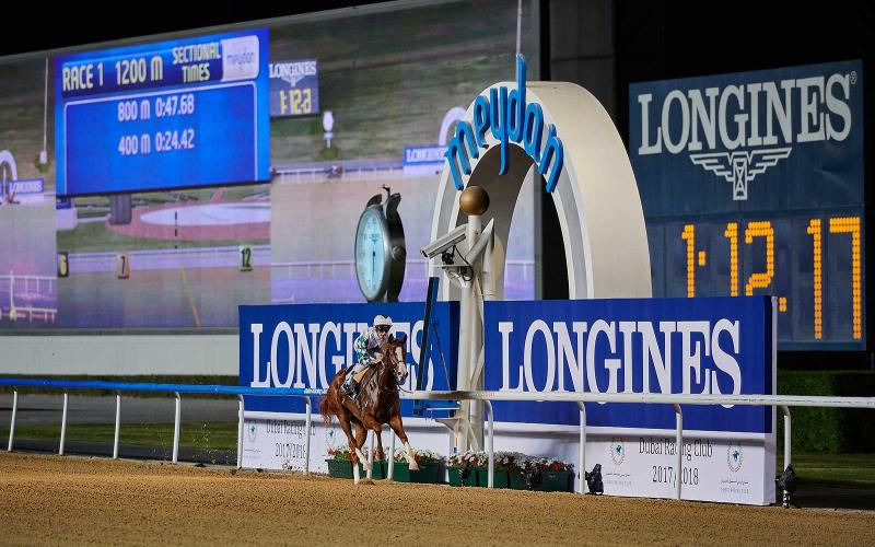 Longines Kicks Off the 2017-2018 Racing Season at Meydan Racecourse