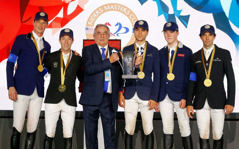 Team Europe; Riders Masters Cup; Longines Masters of Paris