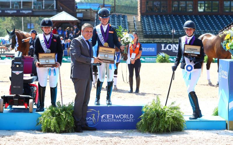 FEI World Equestrian Games Tryon 2018, Para-Dressage