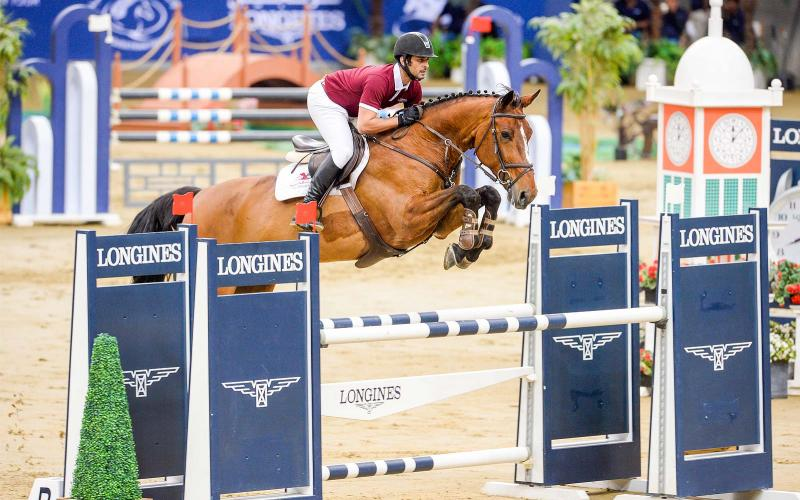 Swiss Watch Brand Longines; partner; CHI AL SHAQAB