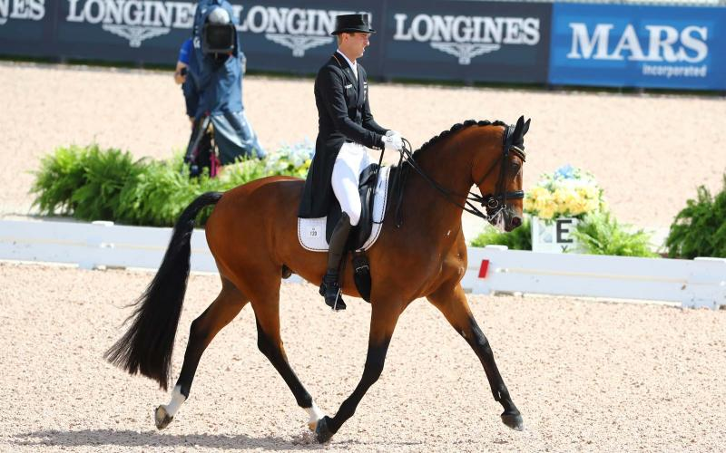 WEG2018, tryon, dressage, Germany team