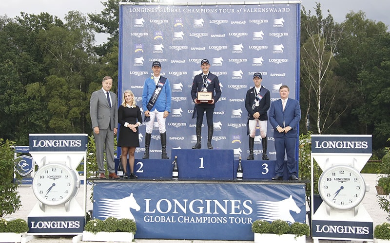 The Dutch leg of the 2017 Longines Global Champions Tour was won by Lorenzo de Luca