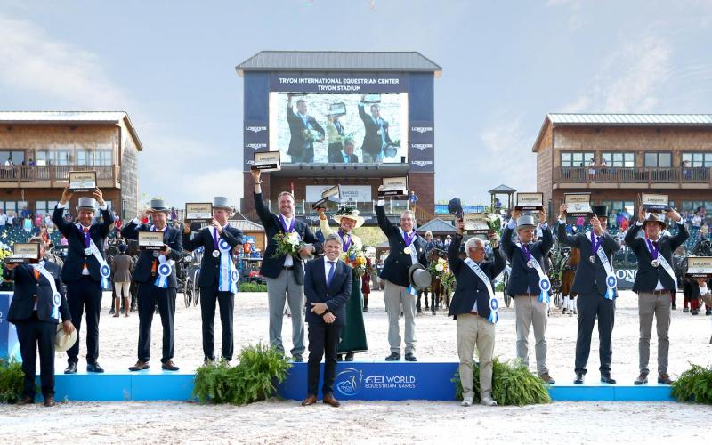Tryon 2018, WEG, Final,Closing ceremony