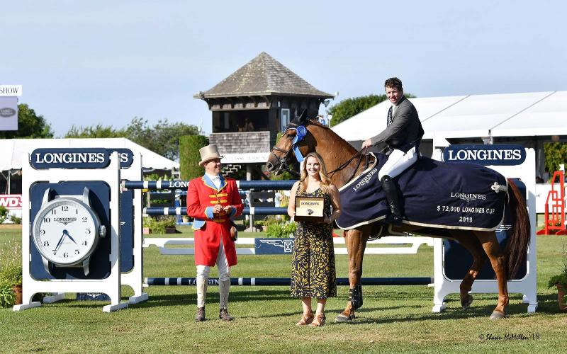 The Hampton Classic Horse Show; Springreiten; 2019