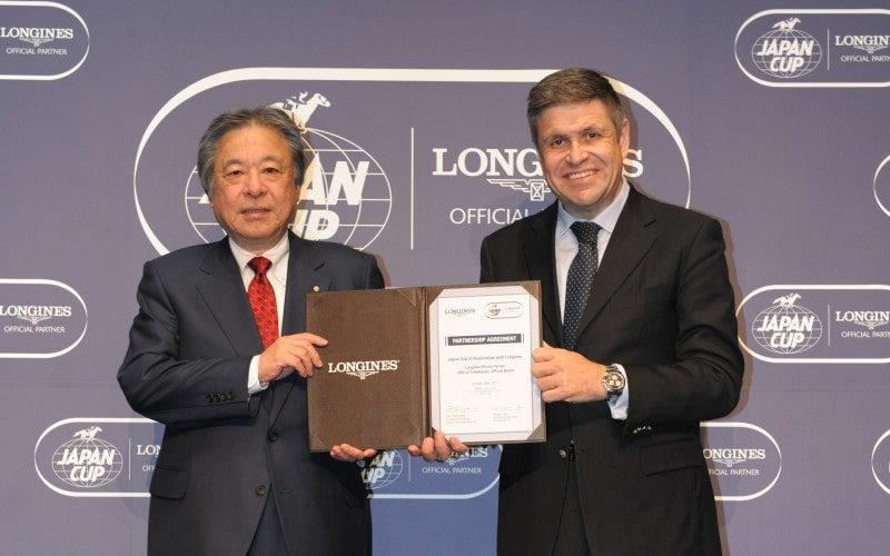 The Japan Cup in association with Longines: renewal of partnership agreement