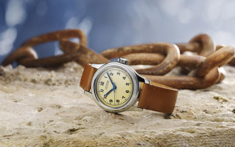The Longines Heritage Military Marine Nationale: Longines sticht in See