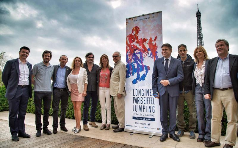 the Longines Paris Eiffel Jumping; the Longines Global Champions Tour; The Longines Master Collection; Paris; May; 2017