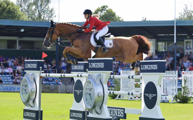 Team Germany clinches first place at Longines Royal International Horse Show