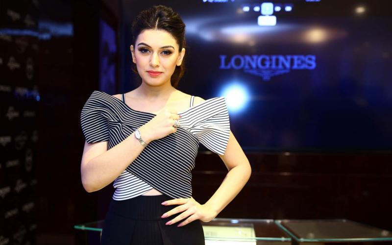 South Indian actress Ms Hansika Motwani, longines, symphonette, Boutique, Chennai, India