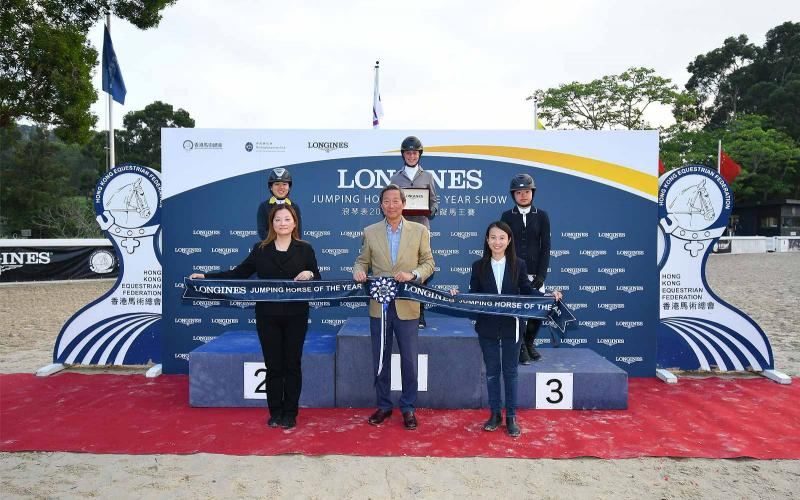 The Perfect Ending of LONGINES Jumping Horse of the Year Show 2018 & Extend 5-year Partnership for the development of equestrian sport in Hong Kong