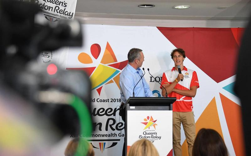 The Queen's Baton Relay; Australia; the Gold Coast 2018 Commonwealth Games