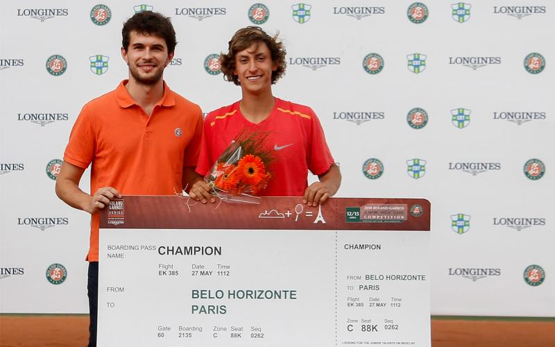 Roland-Garros Junior Wild-Card Competition by Longines; Brazil