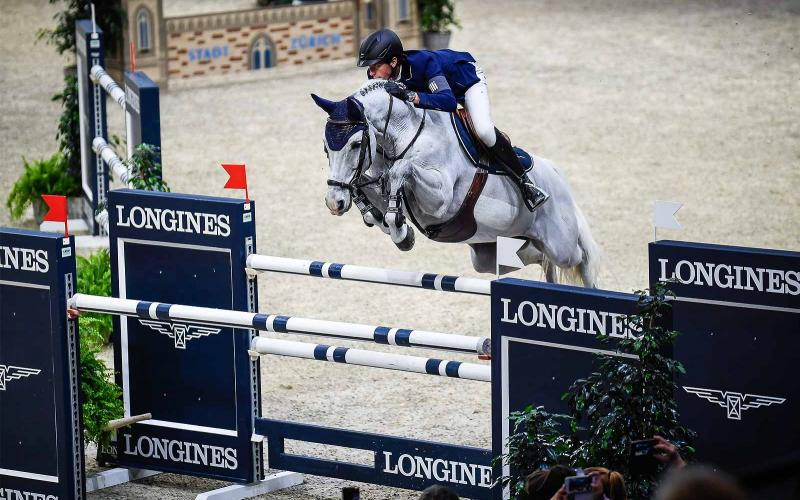 Martin Fuchs; Clooney; the Longines Grand Prix; the Mercedes-Benz CSI Zurich