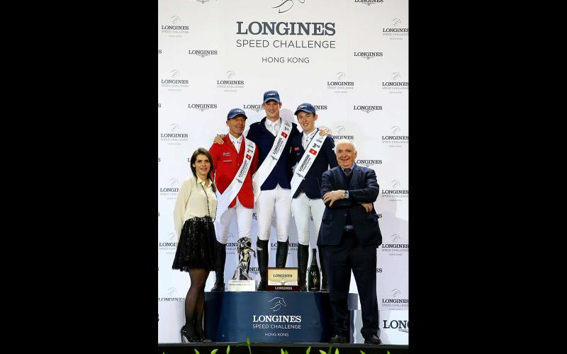 The Longines Masters of Hong Kong The Longines Speed Challenge; Daniel Deusser; The Longines Equestrian Collection;