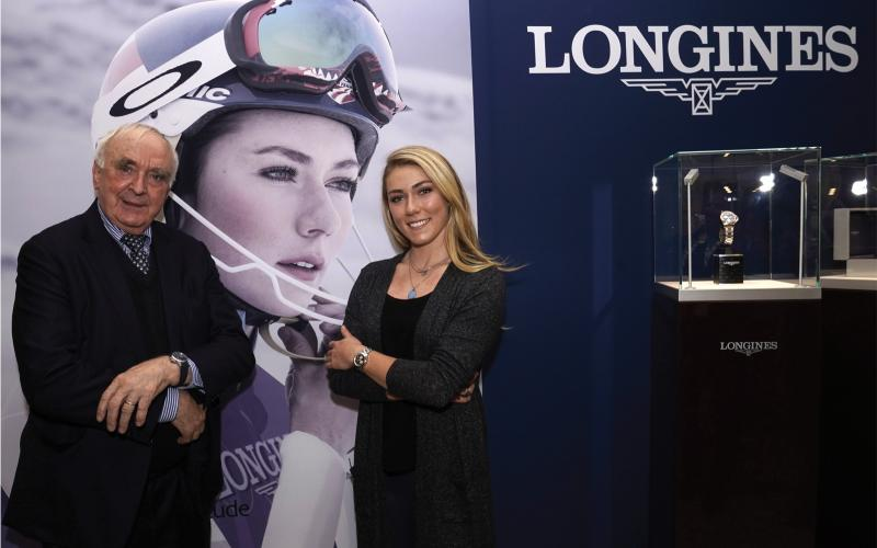 To mark the opening of the alpine skiing season, Longines is presenting the Conquest Chronograph by Mikaela Shiffrin