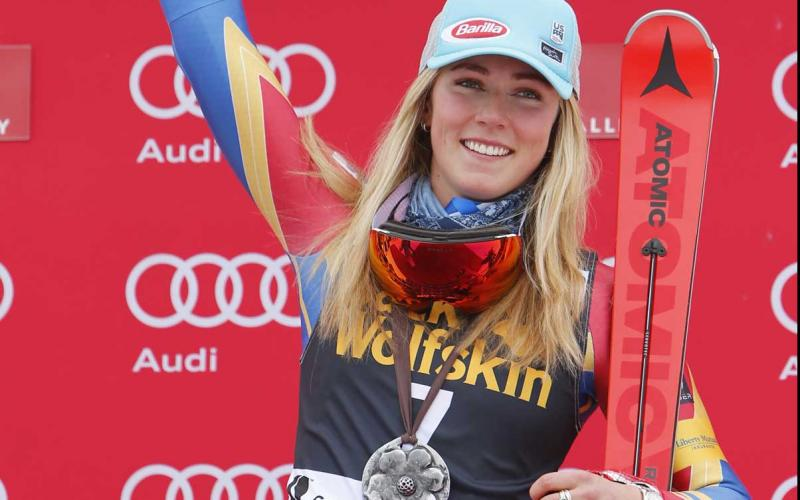 Two FIS World Cup titles and a fourth career slalom crystal globe for Mikaela Shiffrin in Squaw Valley;Victories; Slalom; FIS Allpine World Cup;