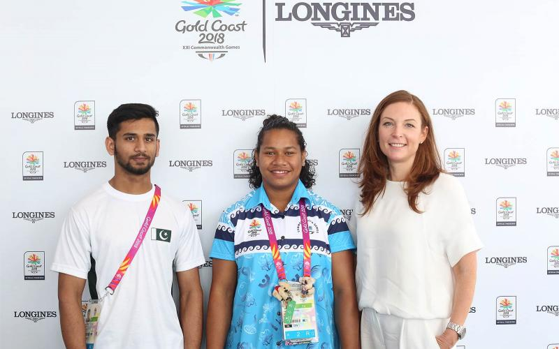 the Gold Coast 2018 Commonwealth Games; records; Eeillen Cikamatana; Talha Talib; Amelia Michael; Miriam Moyo; Glynis Nunn-Cearns;