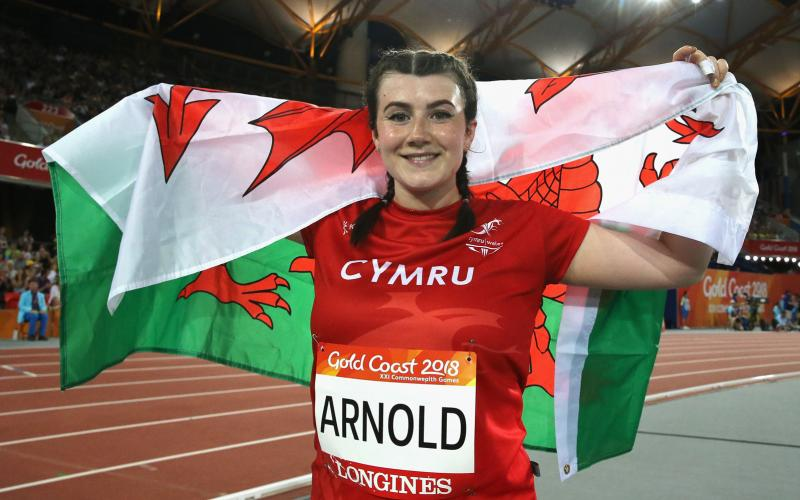 Commonwealth Games 2018,world record,Hollie Arnold MBE