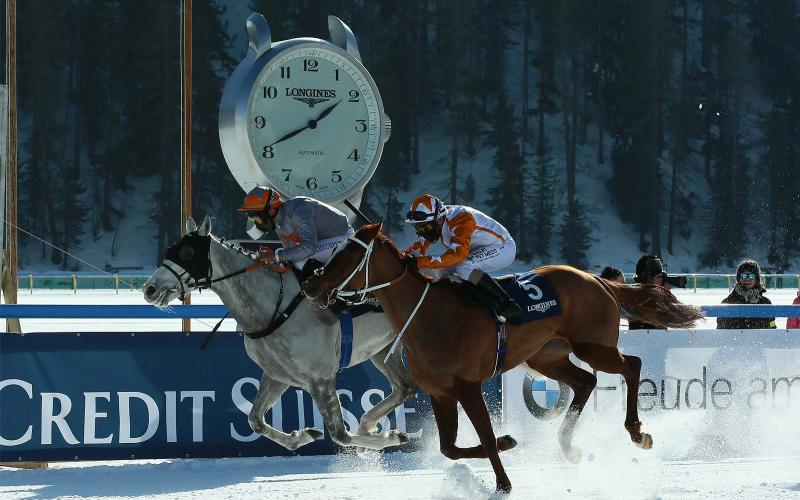 White Turf St. Moritz 2020; 2nd Sunday; Horse Racing; 2020