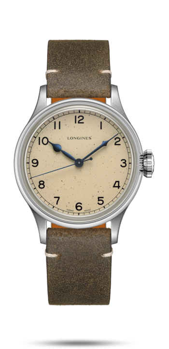 Watch The Longines Heritage Military L2.819.4.93.2