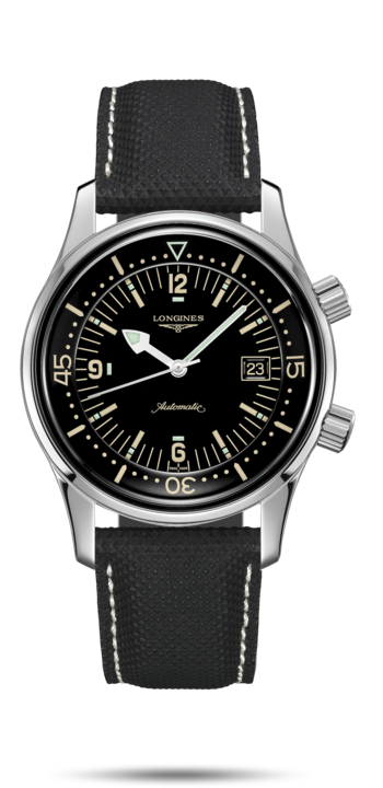 Watch The Longines Legend Diver Watch L3.774.4.50.0