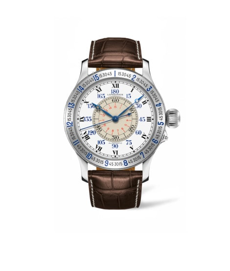 Watch The Lindbergh Hour Angle Watch L2.678.4.11.0
