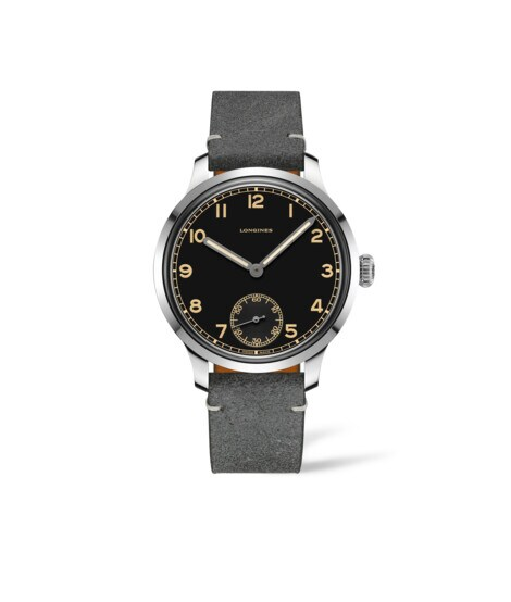 Watch The Longines Heritage Military L2.826.4.53.2