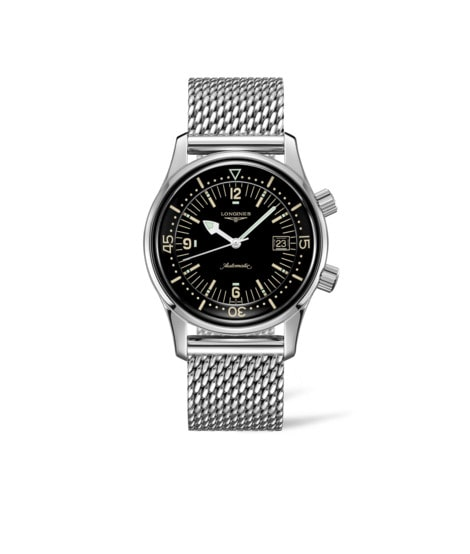 Watch The Longines Legend Diver Watch L3.774.4.50.6