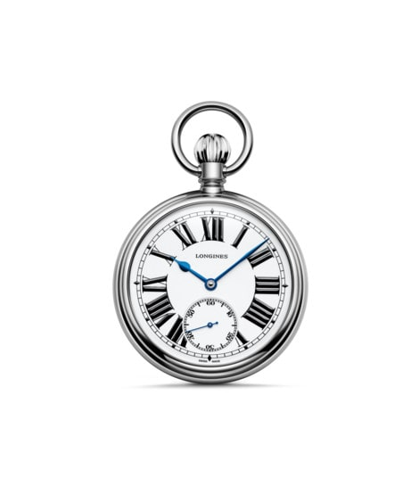 Watch The Longines RailRoad Pocket Watch L7.039.4.21.2